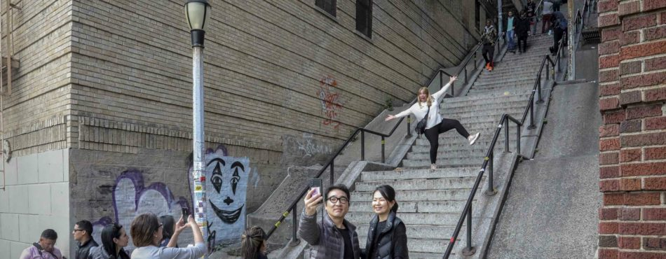 Meme Tourism in the U.S: Joker Stairs as a New Bronx Attraction photo