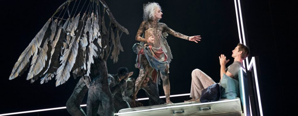 """What relevance did the play """"Angels in America"""" have in American culture? photo"""